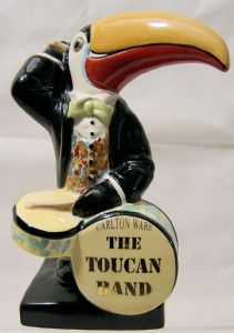 Carlton Ware Toucan Band - The Toucan Drummer - Limited Edition - 270869990785 - SOLD